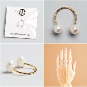 Erth Tu y Yo Pearl Ring for Any Size! Lovely! 💍